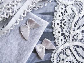 "1 Pkt. Materialpaket ""Silver-gray Animalprint"" - Slipset"
