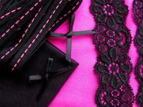 "1 Pkt. Materialpaket ""Pink Lipstick"" - Slipset"