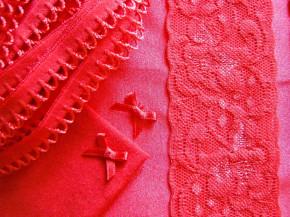 """1 Pkt. Materialpaket """"Red Lips"""" - Slipset"""