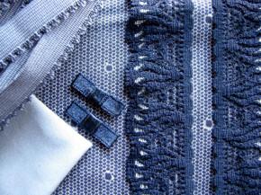 "1 Pkt. Materialpaket ""Blue Points"" - Slipset"