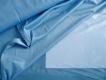 zarte Futter-Charmeuse in lagunen-blau Fb0351