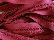 6m Spitzen-Wäschegummi in vino-rot Fb0105