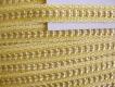 Web-Borte in honig-gelb
